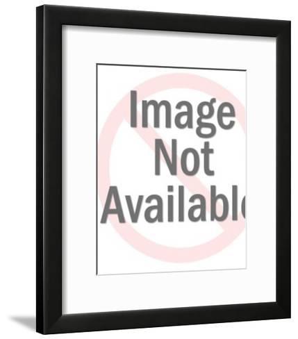 Man Wearing Hat-Pop Ink - CSA Images-Framed Art Print