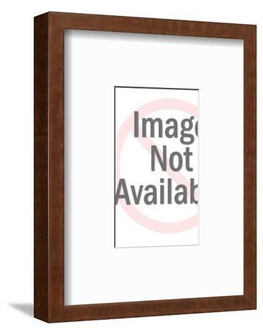 Female Graduate-Pop Ink - CSA Images-Framed Art Print