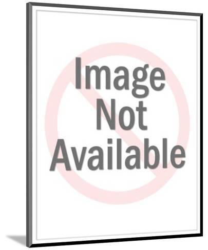 Female Graduate-Pop Ink - CSA Images-Mounted Art Print