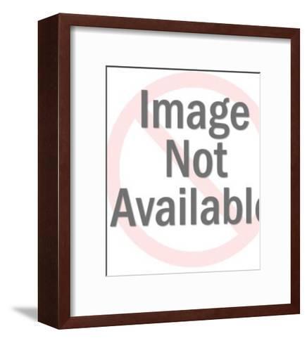 Portrait of Man-Pop Ink - CSA Images-Framed Art Print