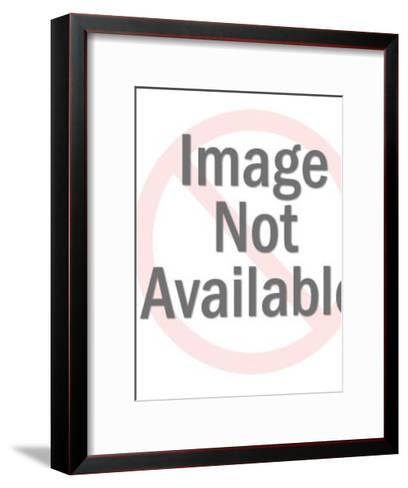 Man Putting Box in Mailbag-Pop Ink - CSA Images-Framed Art Print