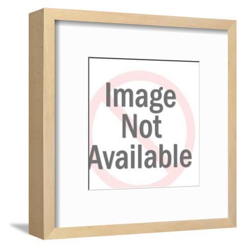 Bunny Wearing Tuxedo-Pop Ink - CSA Images-Framed Art Print
