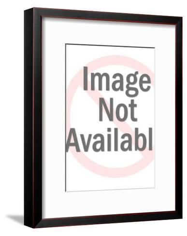 Woman Wearing Cardboard Box-Pop Ink - CSA Images-Framed Art Print
