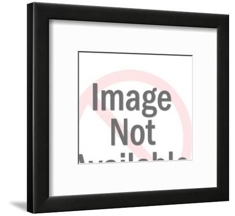 Man Working on Machine-Pop Ink - CSA Images-Framed Art Print