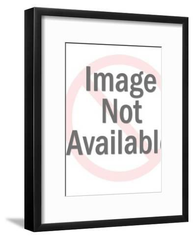 Sitting Cat-Pop Ink - CSA Images-Framed Art Print
