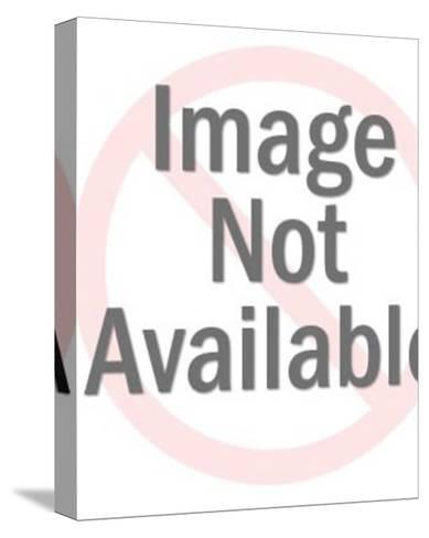 Zodiac Libra Woman-Pop Ink - CSA Images-Stretched Canvas Print