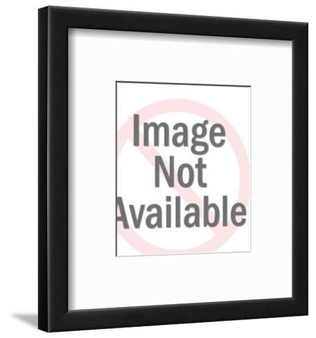 Sour Faced Man-Pop Ink - CSA Images-Framed Art Print