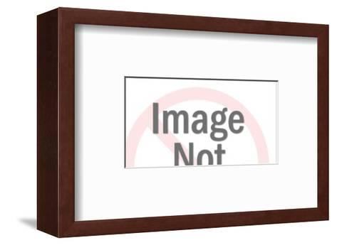 Men Working on House-Pop Ink - CSA Images-Framed Art Print