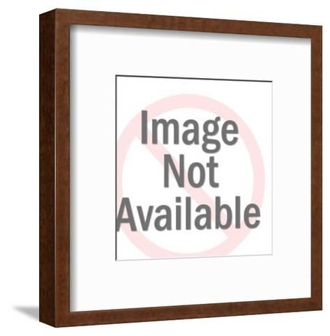Portrait of a Bull-Pop Ink - CSA Images-Framed Art Print