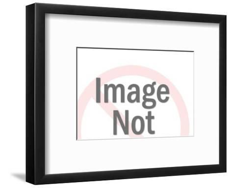 Man and Woman Holding Film-Pop Ink - CSA Images-Framed Art Print