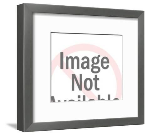 Silhouette of Two Women and Car-Pop Ink - CSA Images-Framed Art Print
