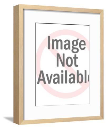 Panther School Crest-Pop Ink - CSA Images-Framed Art Print