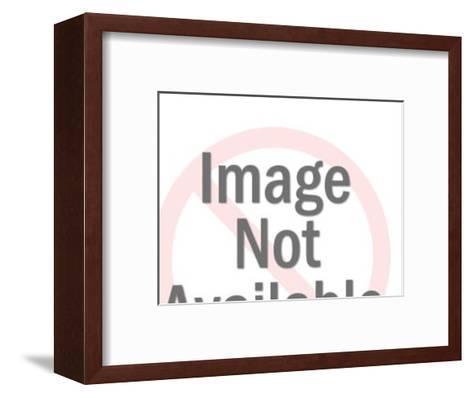 Windup Girl and Boy-Pop Ink - CSA Images-Framed Art Print