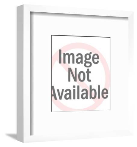 Lion-Pop Ink - CSA Images-Framed Art Print