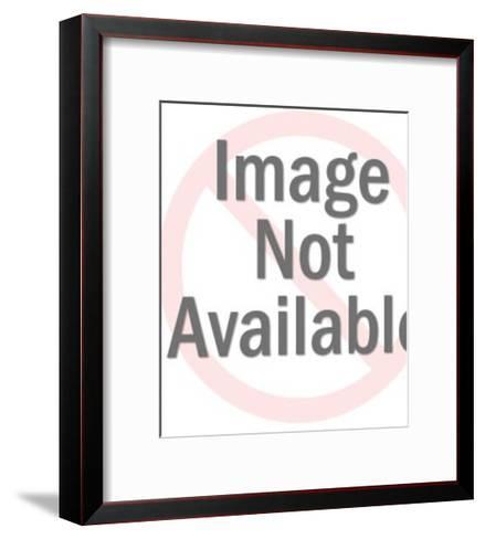 Worried Man At Parking Meter-Pop Ink - CSA Images-Framed Art Print