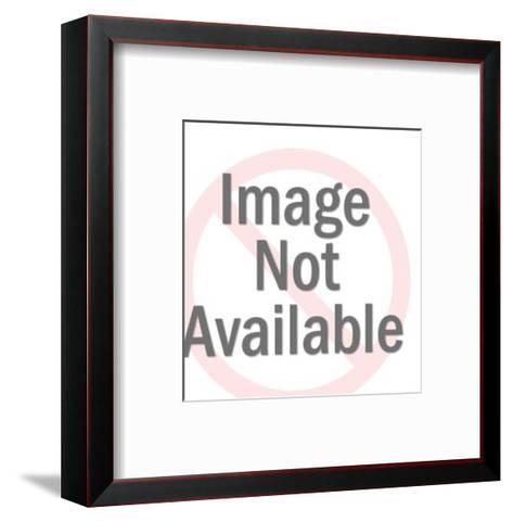 Hungry Man-Pop Ink - CSA Images-Framed Art Print