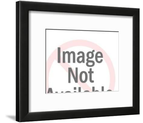 Two Headed Man-Pop Ink - CSA Images-Framed Art Print
