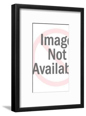 Girl Holding Book-Pop Ink - CSA Images-Framed Art Print
