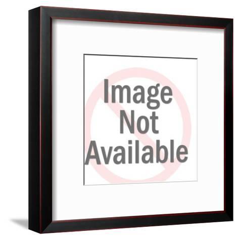 Hornet Man Holding Football-Pop Ink - CSA Images-Framed Art Print