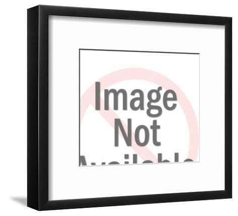 Portrait of Woman-Pop Ink - CSA Images-Framed Art Print