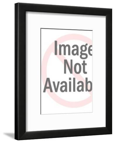Mad Man in a Lab-Pop Ink - CSA Images-Framed Art Print