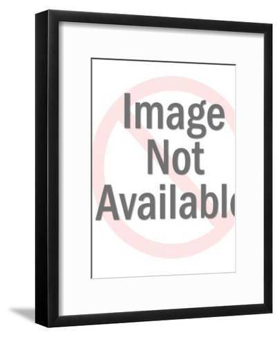 Woman in Dress-Pop Ink - CSA Images-Framed Art Print
