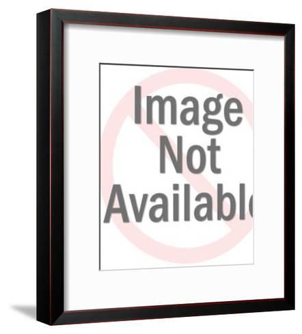 Worried Man Up a Tree-Pop Ink - CSA Images-Framed Art Print