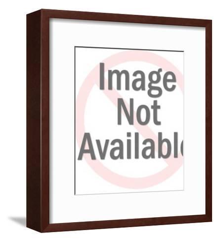 Two Headed Smiling Men-Pop Ink - CSA Images-Framed Art Print