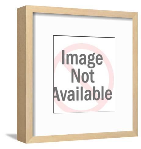 Big Horned Goat-Pop Ink - CSA Images-Framed Art Print