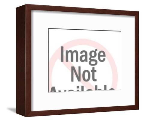 Rampant Lion Crest-Pop Ink - CSA Images-Framed Art Print