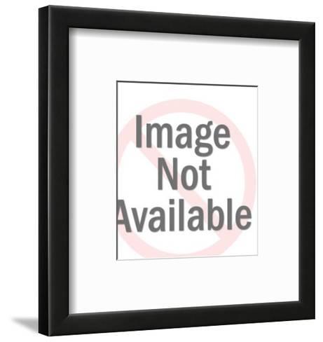 Bulldog With Spike Collar-Pop Ink - CSA Images-Framed Art Print