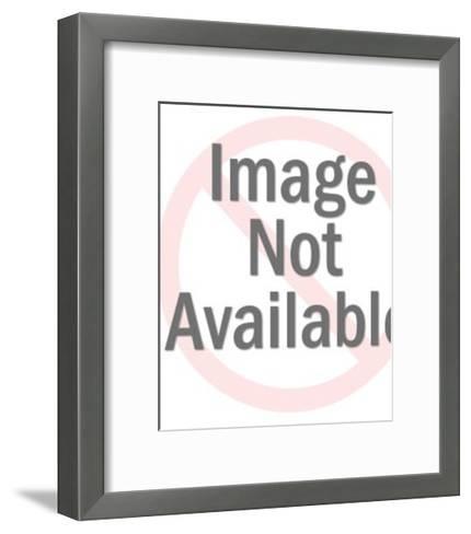 Rabbit Holding Top Hat-Pop Ink - CSA Images-Framed Art Print