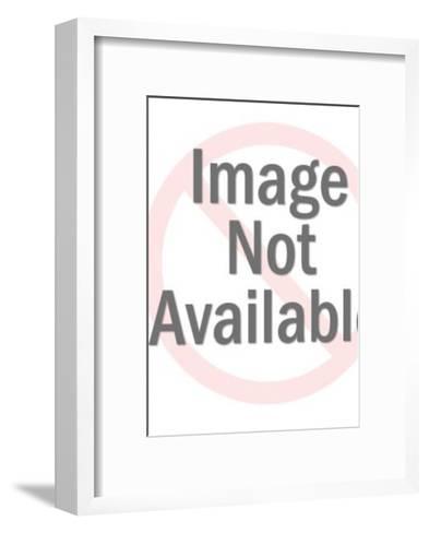 Girl Holding Umbrella-Pop Ink - CSA Images-Framed Art Print