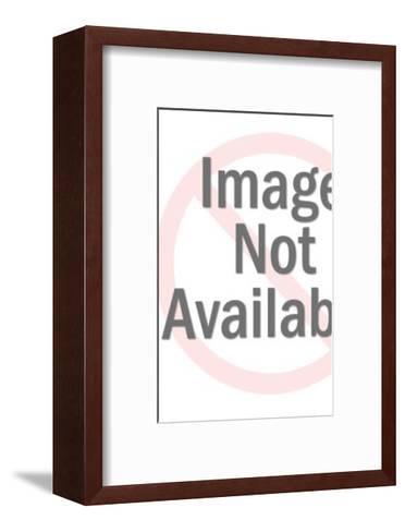 Mustache Man Wearing Glasses-Pop Ink - CSA Images-Framed Art Print