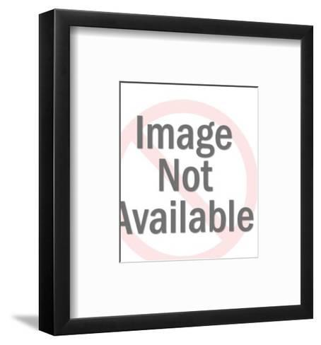 Scary Horror Stories Book-Pop Ink - CSA Images-Framed Art Print