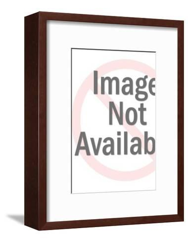Mature Couple-Pop Ink - CSA Images-Framed Art Print