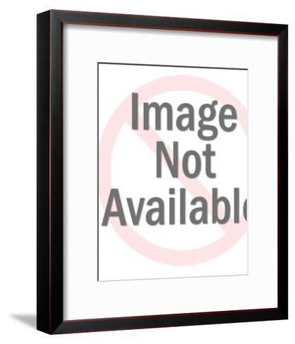 Smiling Boy Looking Back-Pop Ink - CSA Images-Framed Art Print