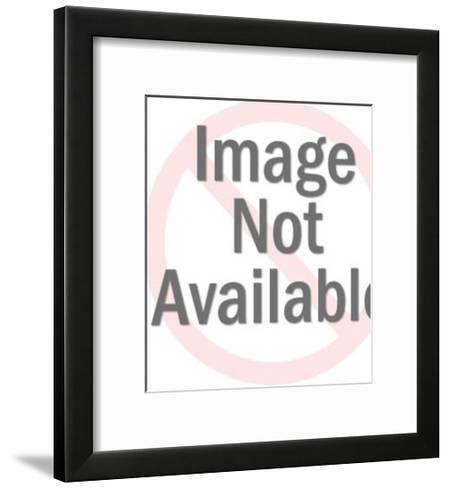 Meremaid Holding Drinks on Tray-Pop Ink - CSA Images-Framed Art Print