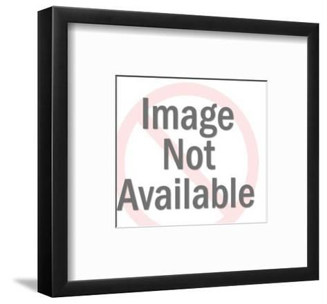 Young Couple-Pop Ink - CSA Images-Framed Art Print