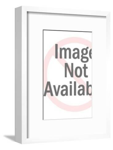 Man Sitting on an Egg-Pop Ink - CSA Images-Framed Art Print