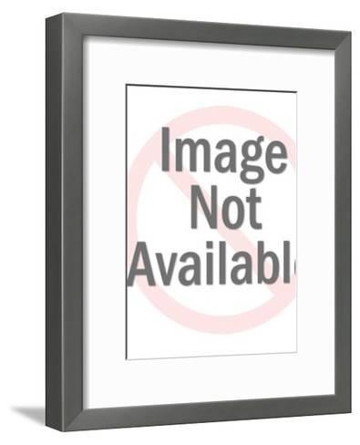 Distinguished Looking Man Holding a Menu-Pop Ink - CSA Images-Framed Art Print