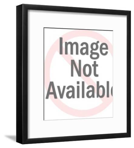 Feisty Black Cat-Pop Ink - CSA Images-Framed Art Print