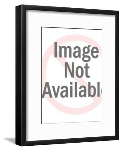 Caveman with a Club-Pop Ink - CSA Images-Framed Art Print