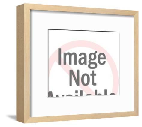 Folded Paper Dog-Pop Ink - CSA Images-Framed Art Print