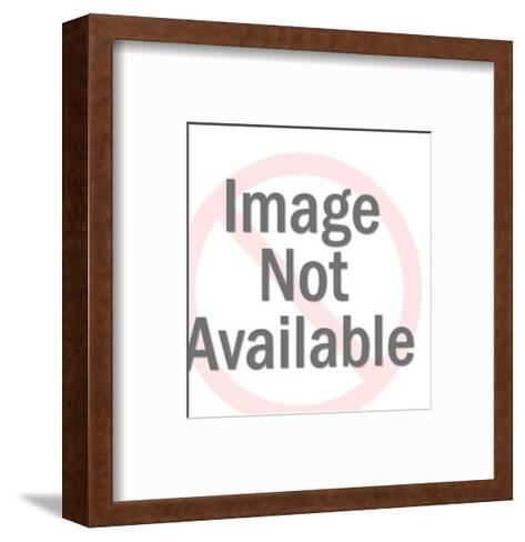 Upright Hand-Pop Ink - CSA Images-Framed Art Print