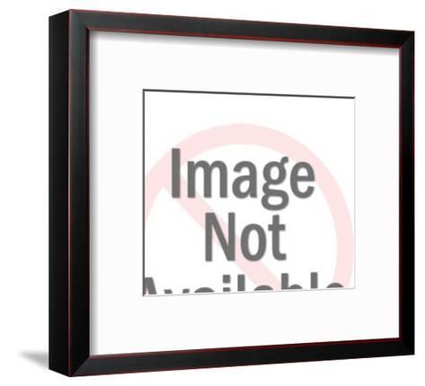 Woman Sewing a Skirt-Pop Ink - CSA Images-Framed Art Print