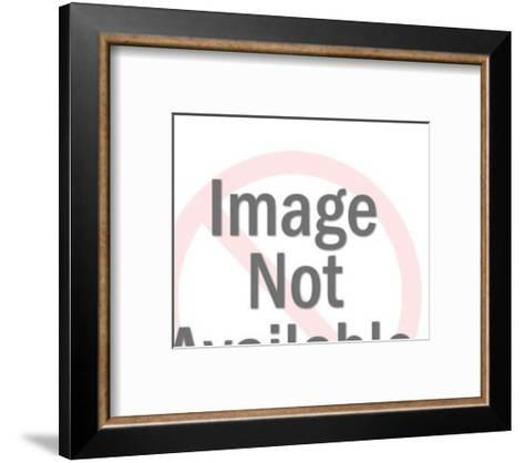Eagle in Flight-Pop Ink - CSA Images-Framed Art Print