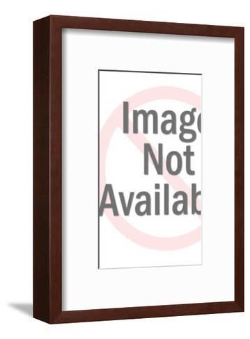 Smiling Key-Pop Ink - CSA Images-Framed Art Print