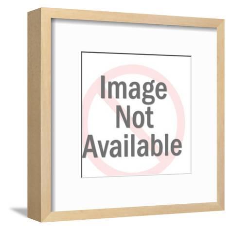 Stylized Lady Bug-Pop Ink - CSA Images-Framed Art Print