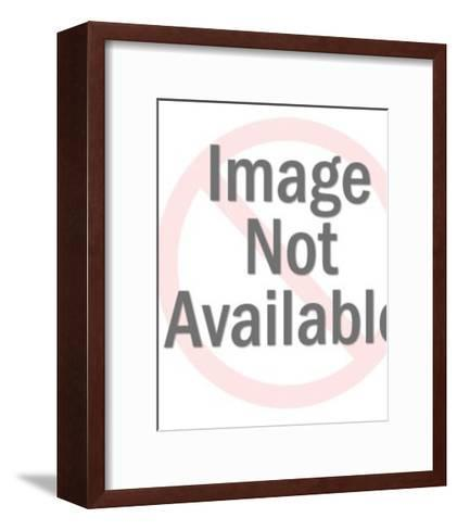 Man Pinching His Nose From an Odor-Pop Ink - CSA Images-Framed Art Print